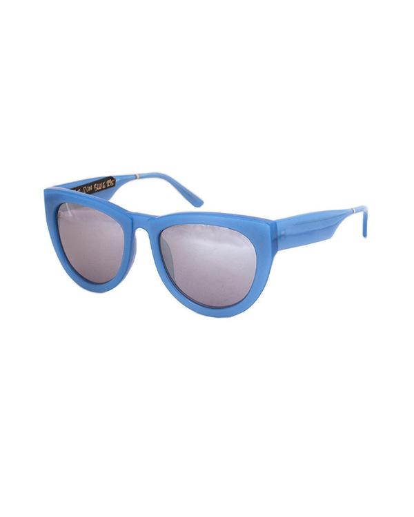 Smoke x Mirrors Runaround Sue Sunglasses in Bright Blue