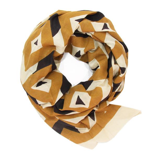 block shop mosaic scarf