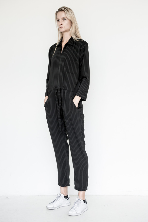 Assembly New York Business Stripe Coverall