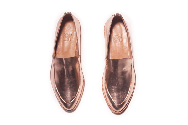 Loafer in Rose Gold