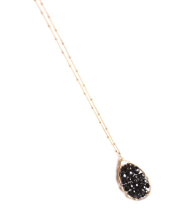James and Jezebelle Spinel Oval Pendant