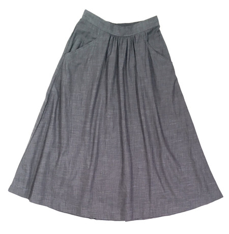 Curator Fawn Denim Skirt