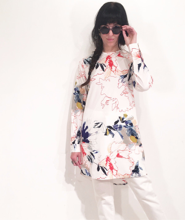 Native Youth Unfinished Floral Dress