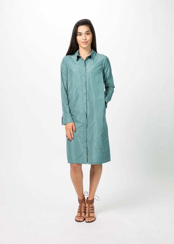 Hudson Snap-Front Shirtdress