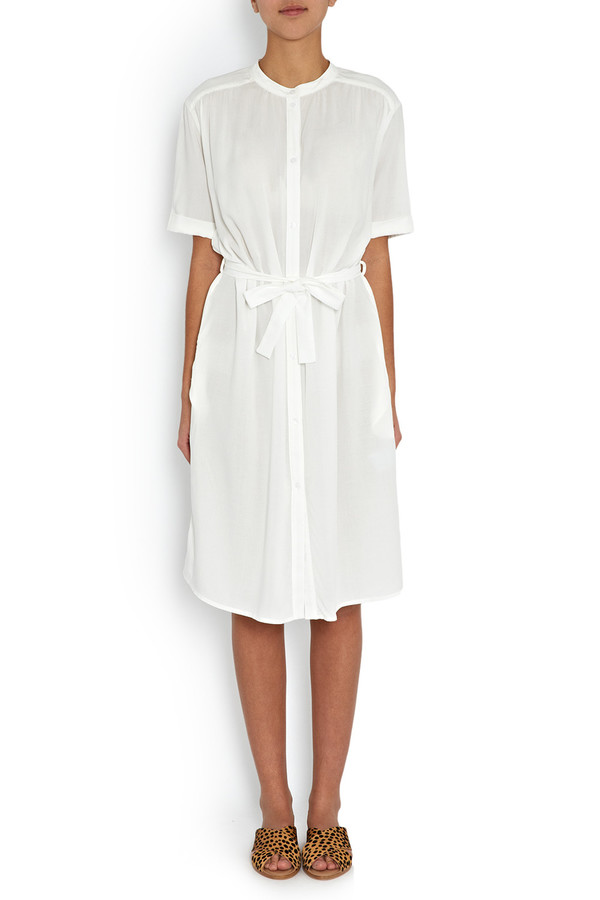 Rodebjer - White Marta Shirt Dress