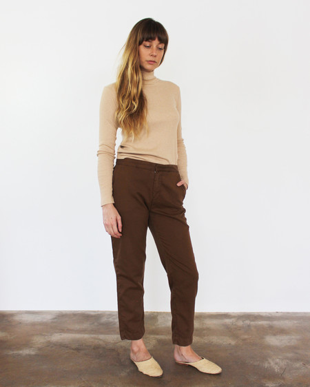 Esby Sam Relaxed Pant- Sienna