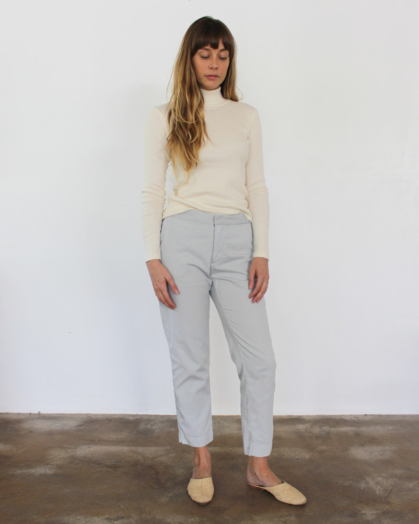 Esby Sam Relaxed Pant - Sky Grey