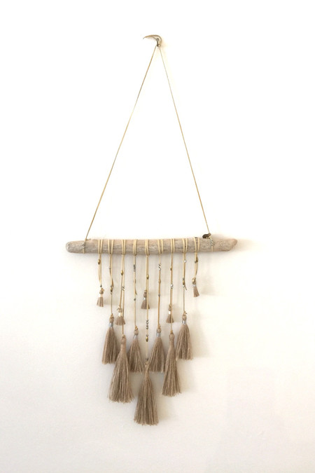 Marion McKee Brown Tassel Dreamcatcher