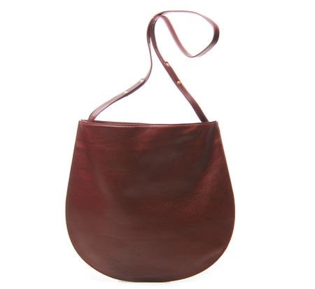 Burgundy Cale Bag by Tsatsas