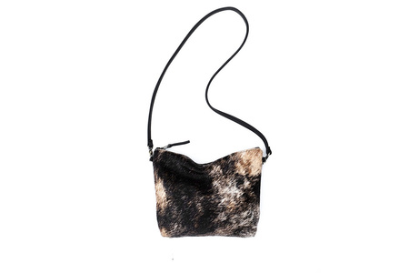 Primecut BRINDLE COWHIDE MINI HOBO