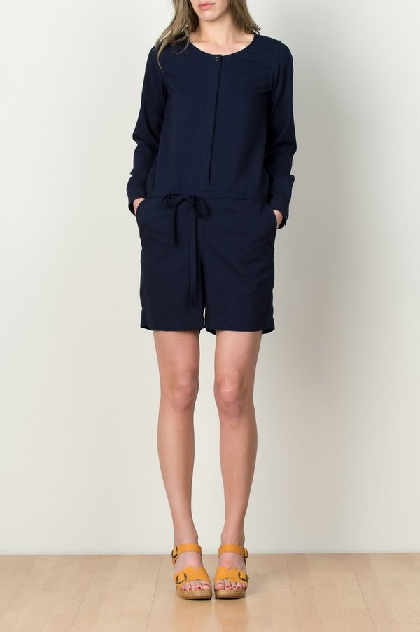 A Kind Of Guise Ponta Preta Jumpsuit