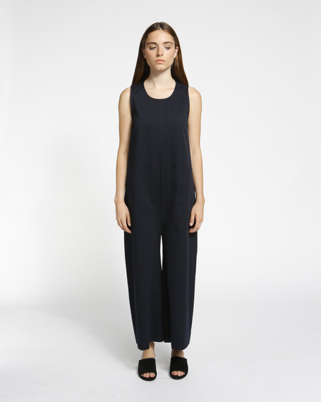 Ilana Kohn Harry Jumpsuit in Navy Twill