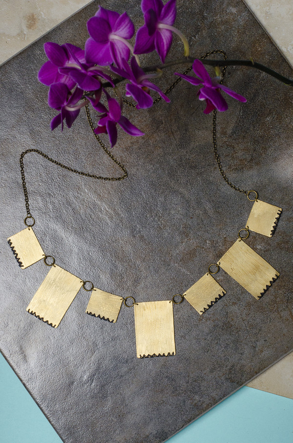 Geography 541 - Telu Necklace