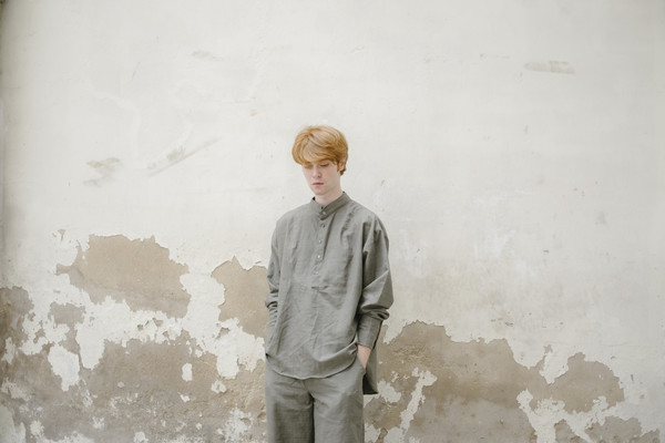 The Poet Shirt - Grey
