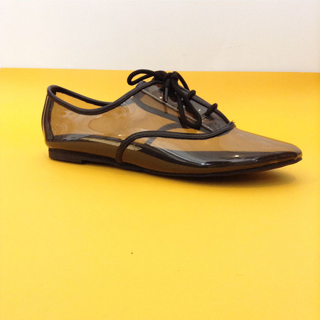 Slow and Steady Wins the Race Clear Oxford in Smoke | Size 37