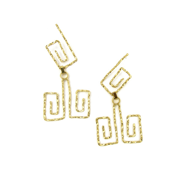 Alynne Lavigne Long Patera Earrings