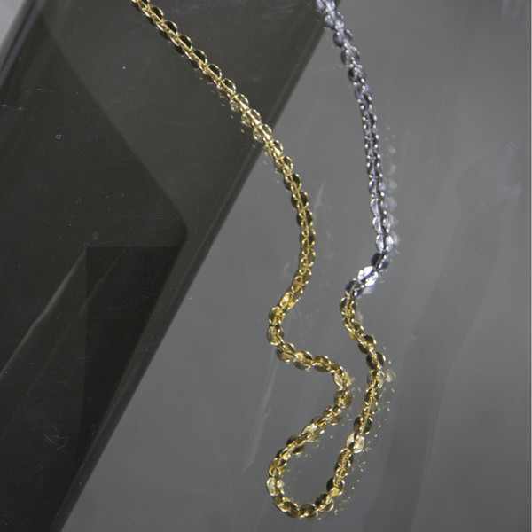 Alynne Lavigne Two Tone Monster Chain