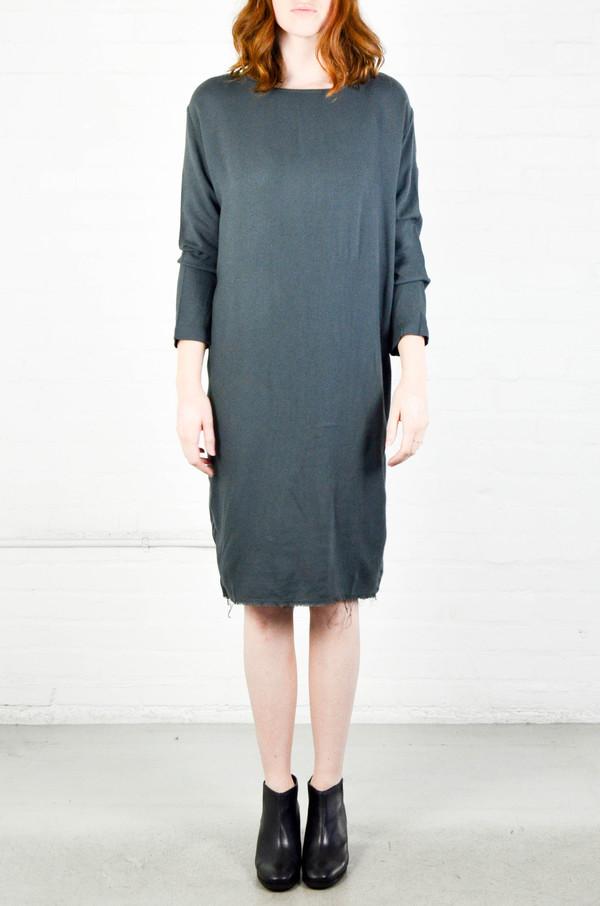Black Crane Dark Shadow Slim Dress