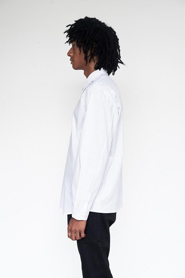 Men's Assembly New York Cotton Stripe Standard Shirt