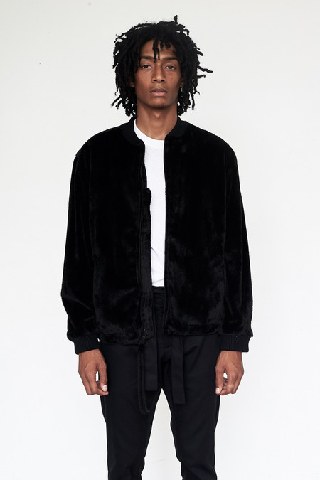Unisex Assembly New York Suede Minimalist Bomber