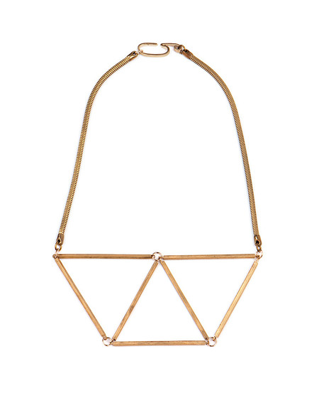 GABRIELA ARTIGAS GEOMETRIC CHEST PLATE