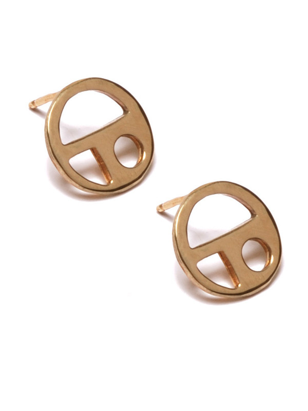 Alynne Lavigne Small Circle Cutout Earrings