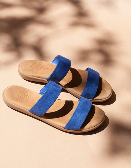 Charlotte Stone Shiloh Olympia Sandals