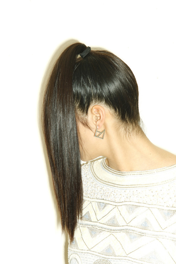 Alynne Lavigne Square Earrings