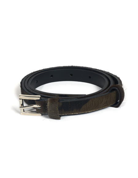 MIKA SAROLEA CAMO PONY LEO BELT