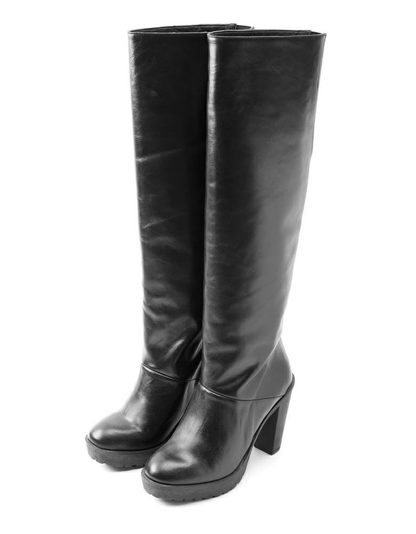 RODEBJER TALL BLACK BOOT