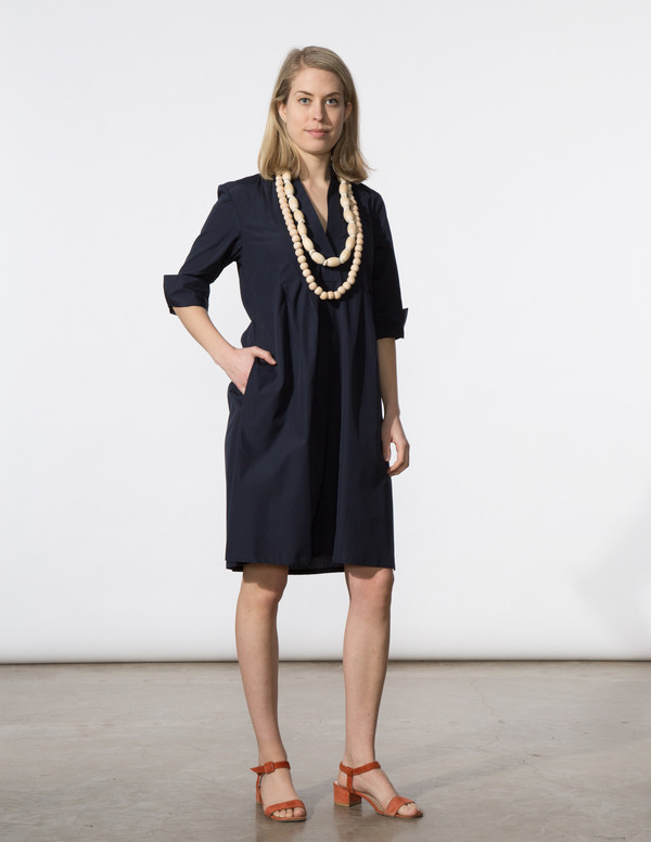 SBJ Austin Ellen Dress - Navy