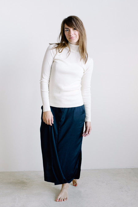 Esby Apparel Ali Rib Turtleneck