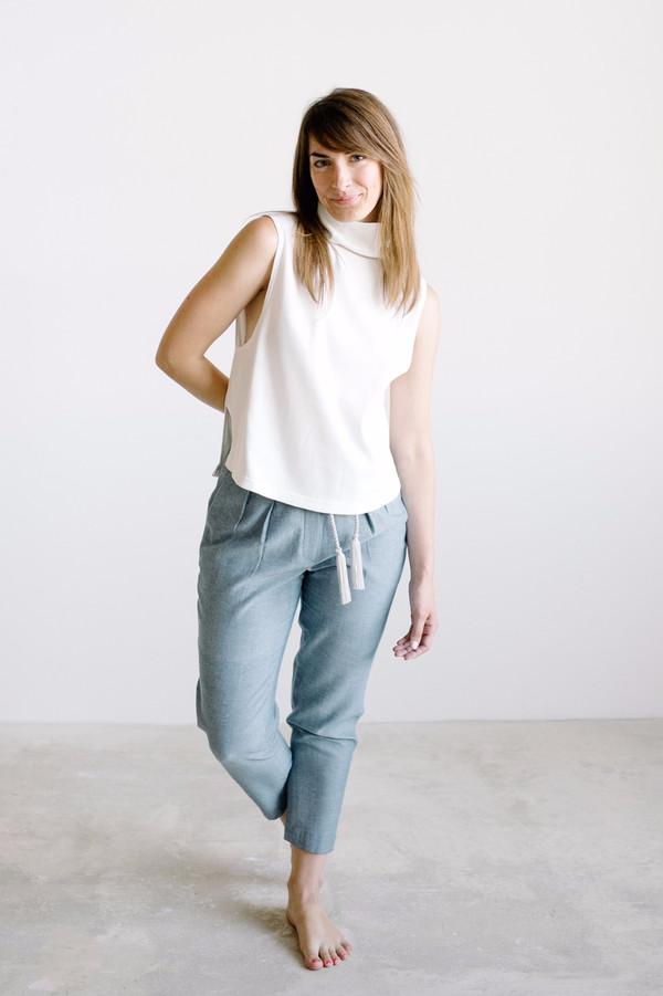 REIFhaus Aros Sweater // White