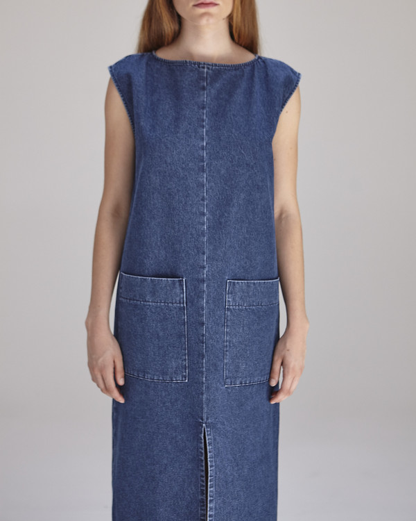 Ilana Kohn Lilly Dress in Denim