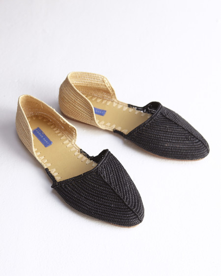 Proud Mary Raffia Bicolore Slides