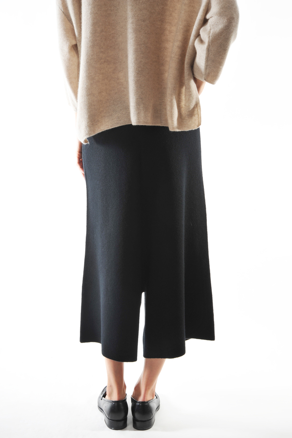 Oyuna Black Knit Karam Trousers