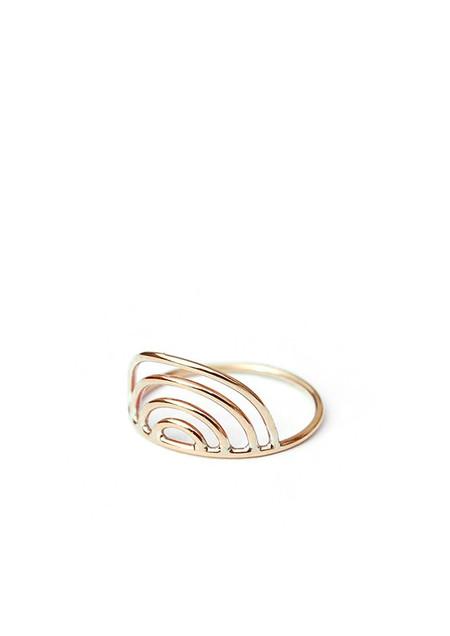 Tiro Tiro Mini Porta Ring 14k Gold