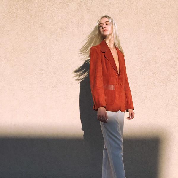 Vintage Burnt Orange Suede Jacket