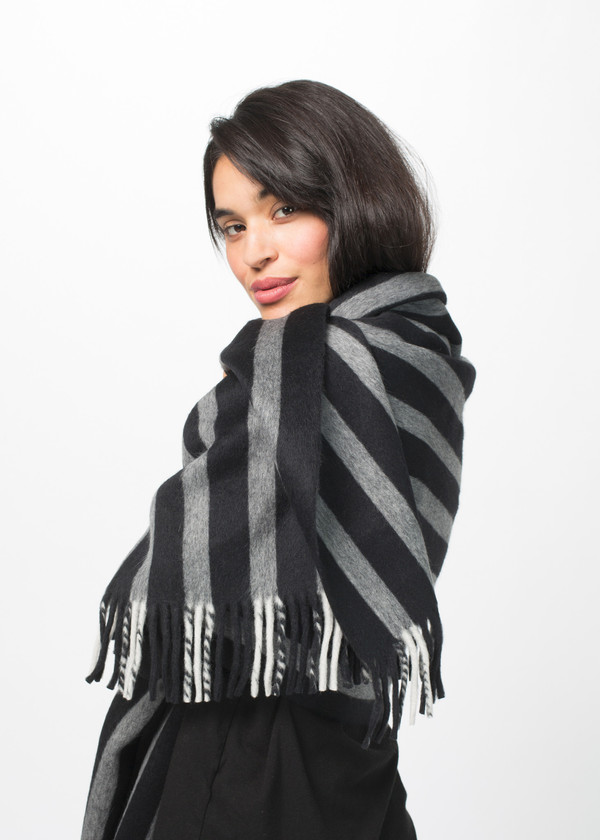 Odeeh Heavyweight Wool Blend Scarf