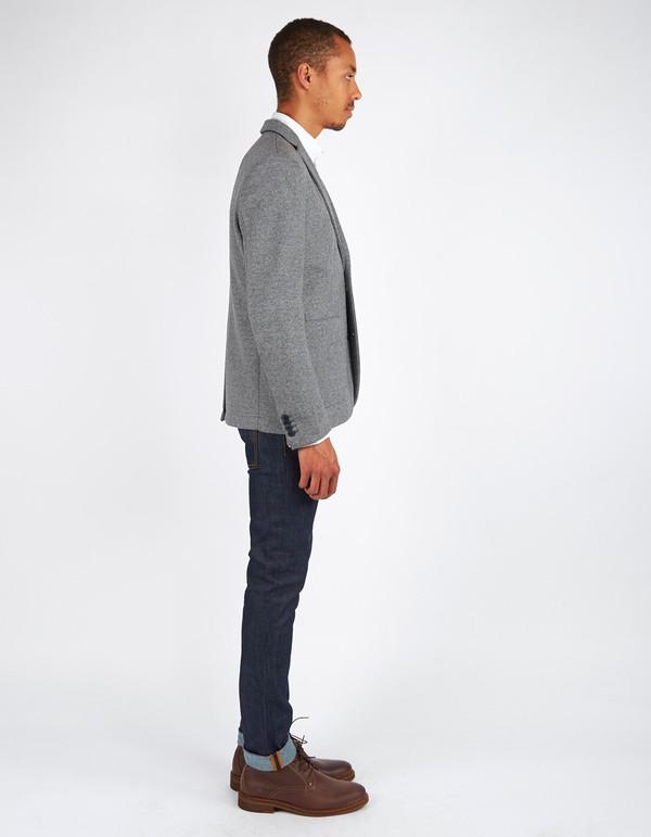 Men's Minimum Black Enzo Blazer Light Grey Melange