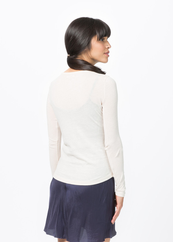 Organic by John Patrick Long Sleeve Shirttail