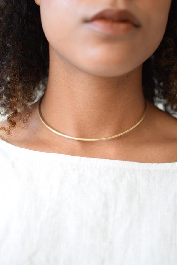 Simple Cuff Necklace