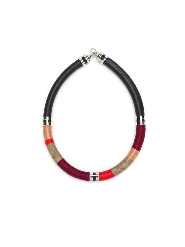 Lizzie Fortunato - DOUBLE TAKE NECKLACE