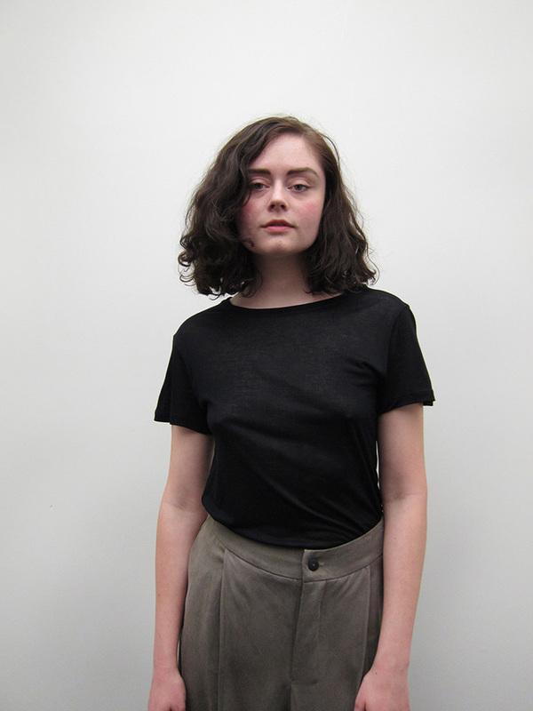 Unisex Baserange  Tee Shirt, Black