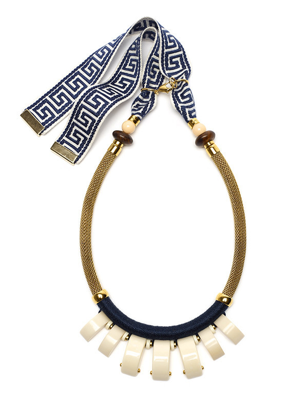 LIZZIE FORTUNATO - CASA AZUL NECKLACE