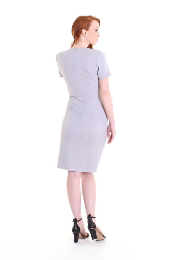 Obakki Corbett dress in soft grey