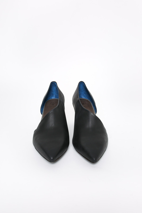 Coclico Johnny heel in diver navy