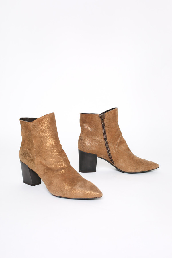 Coclico Joy boot in metal bronze