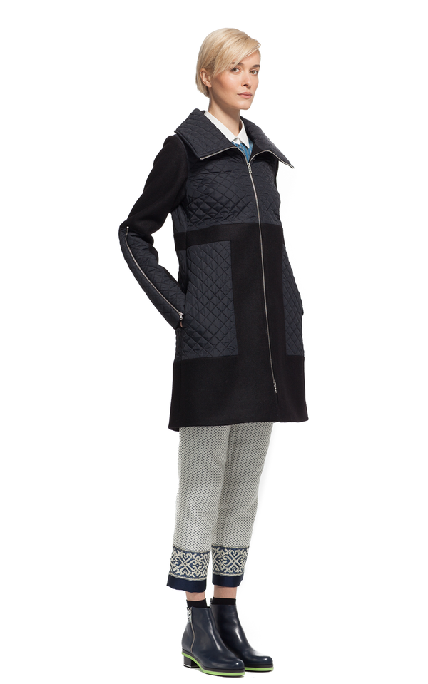 Suno - QUILTED LONG COAT