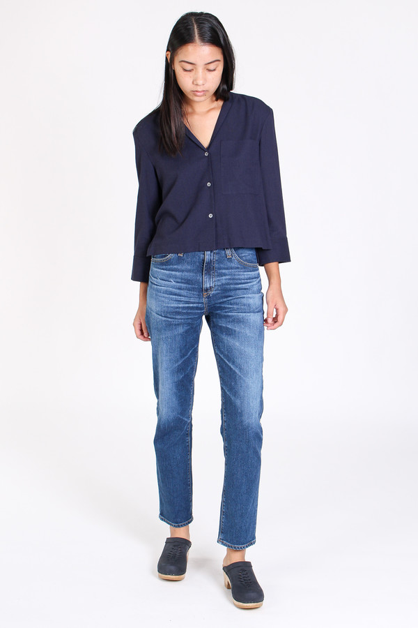 AG Phoebe high rise jean in 10 year wick